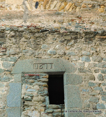 clocher marquixanes reconstruit en 1611
