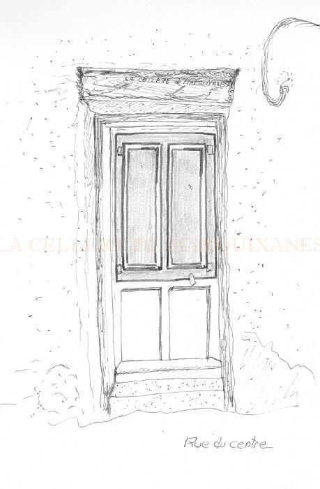 Dessin Porte Maison : Decouverte des portes par le dessin marquixanes